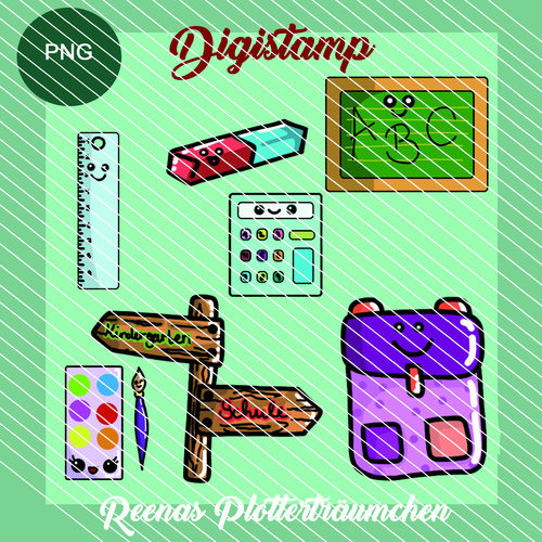 Digistamps: Schule Set